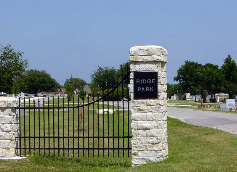 Hillsboro (TX) United States  City pictures : Ridge Park Cemetery, Hillsboro, Hill County, Texas, United States ...