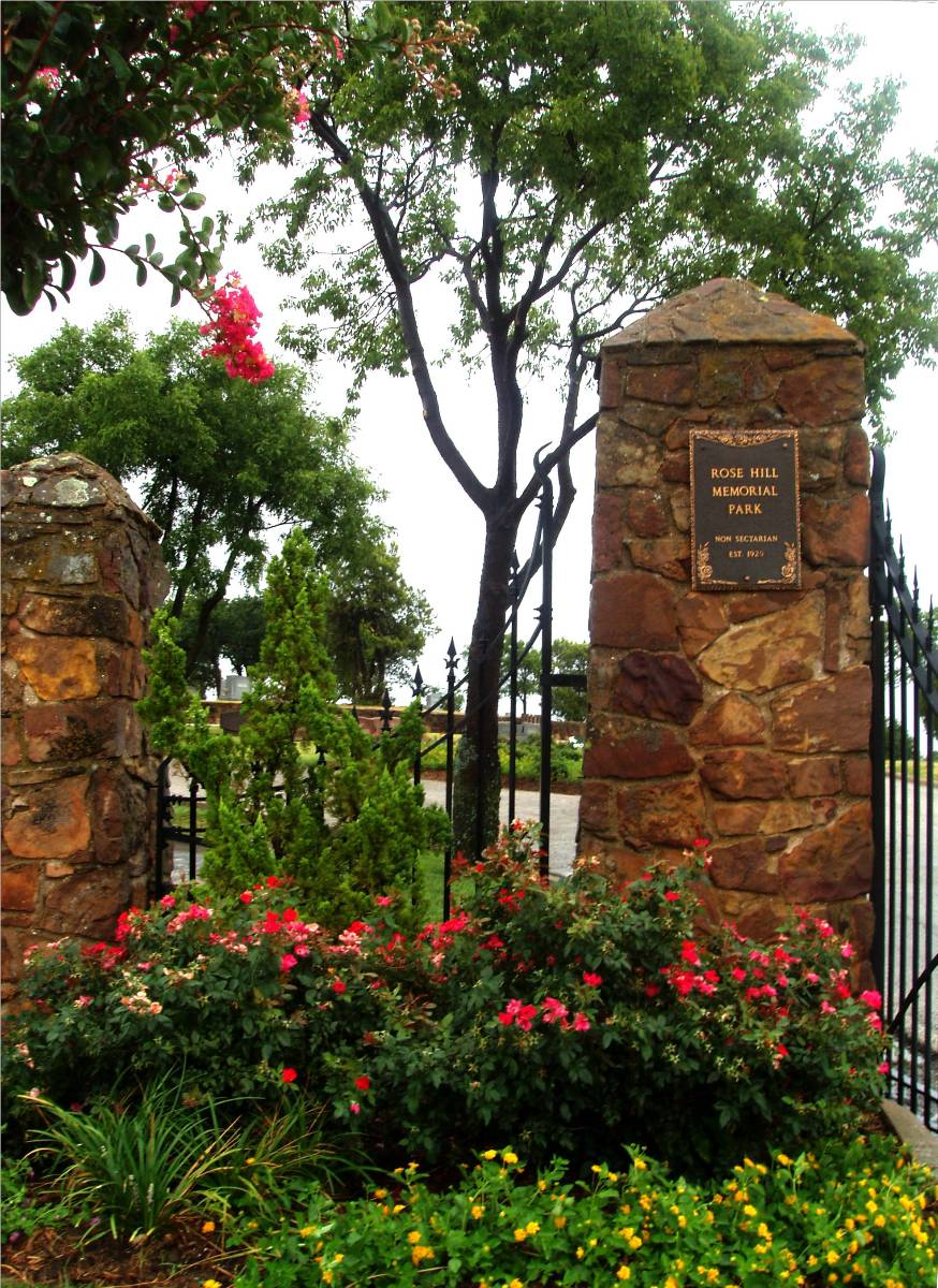 Shannon Rose Hill Memorial Park Cemetery