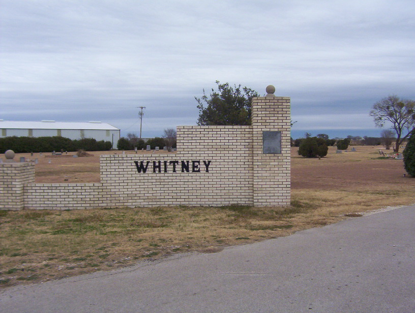 Whitney Memorial Park Cemetery